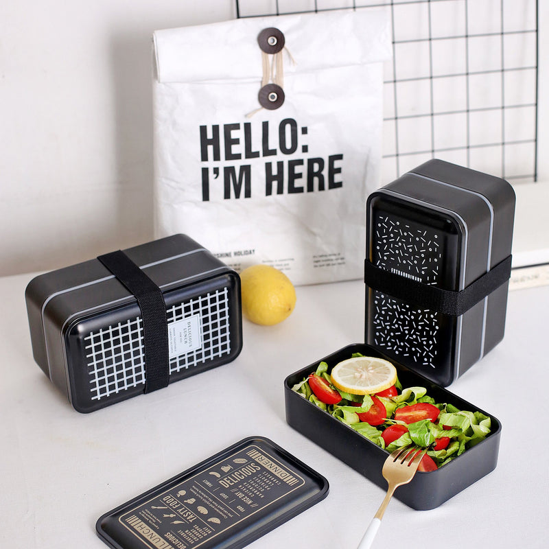 Double-layer PP Bento Lunch Box
