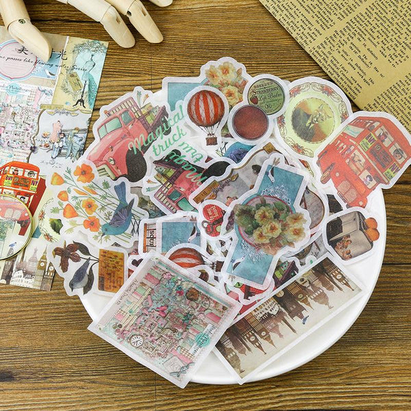 Days Go By Washi Paper Sticker