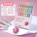 Morandi Color Series Retractable Gel Pen-Set of 9