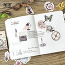 46pcs Ornamentation Stickers KINIYO Stationery