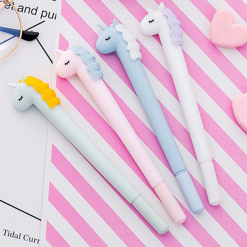 1 Piece Candy Unicorn Gel Pen KINIYO Stationery