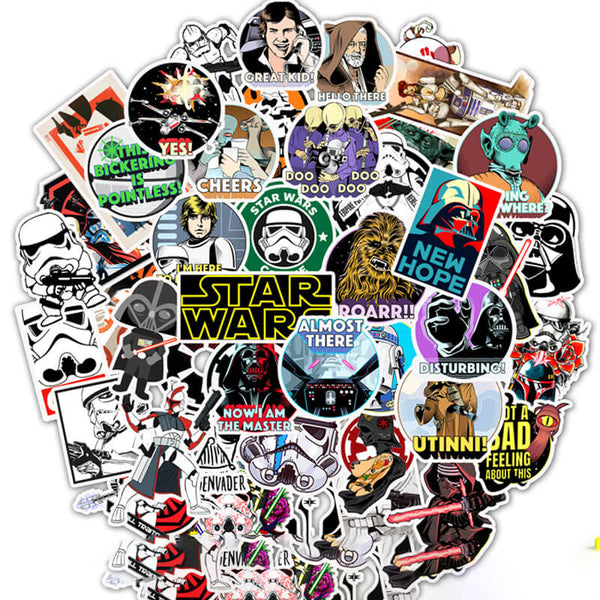 50 pcs Star Wars Sticker Bomb