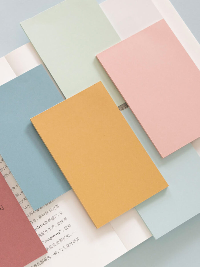 6 Colors Sticky Note Pad-Set of 150