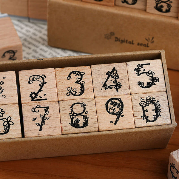 Numbers Stamp Set