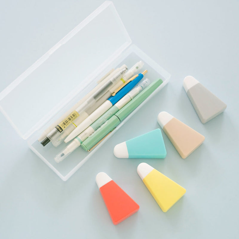 Colorful Cute Correction Tape with Pen Case-Set of 5