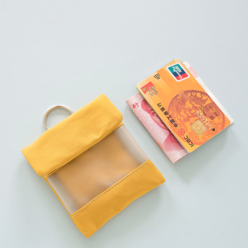 Covered Button Coin Purse