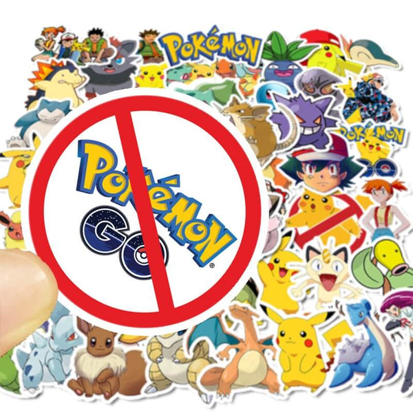 50 pcs Pokemon Sticker Bomb
