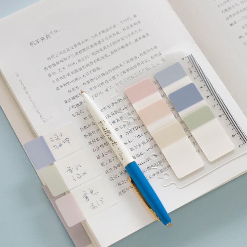 Double Color Index Sticky Note