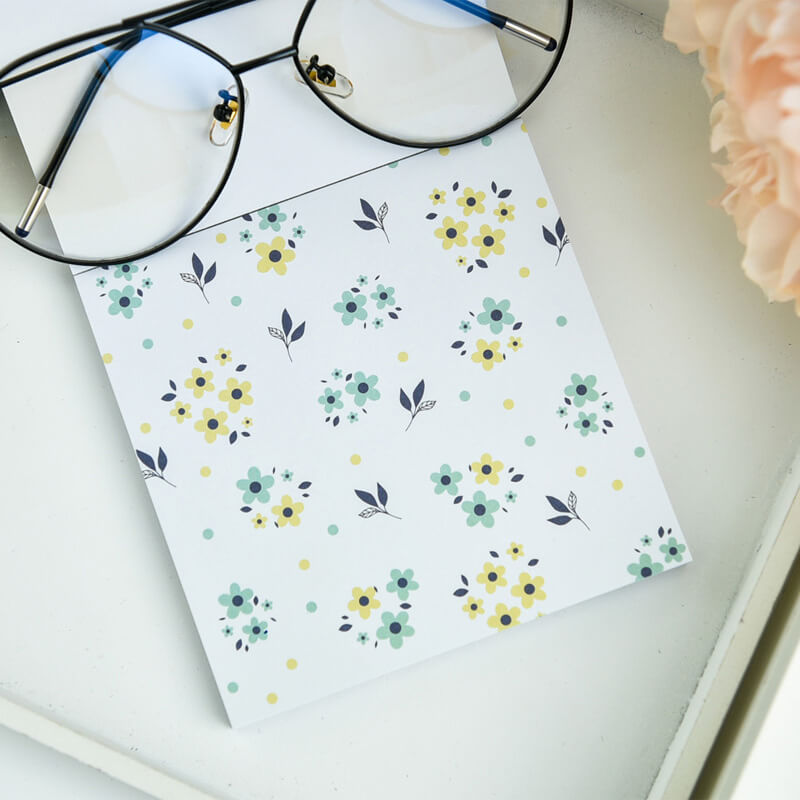 Fresh Memo Pad-Set of 15