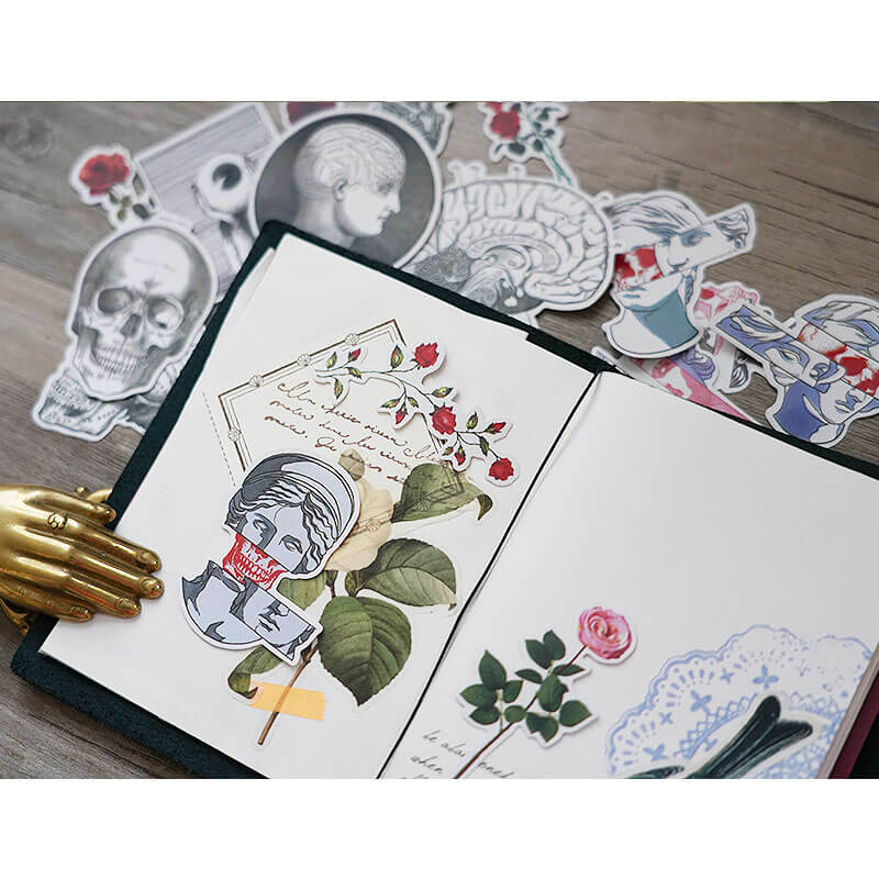 16 pcs Love and Death Sticker