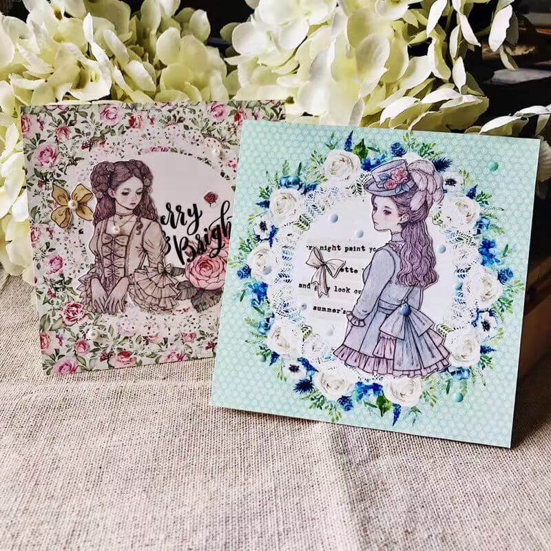 Lace Memo Paper-Set of 30