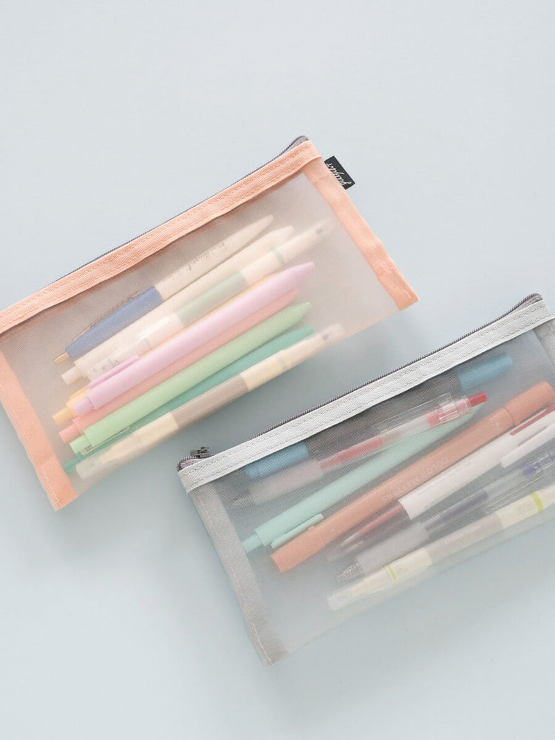 Transparent Minimalist Pen Case