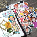 19 pcs Babydoll Themed Sticker