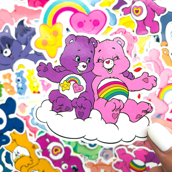 53 pcs Care bears Sticker Bomb