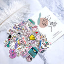42 pcs Oxygen Sticker Bomb