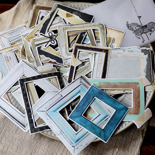 35 pcs Photo Frame Sticker