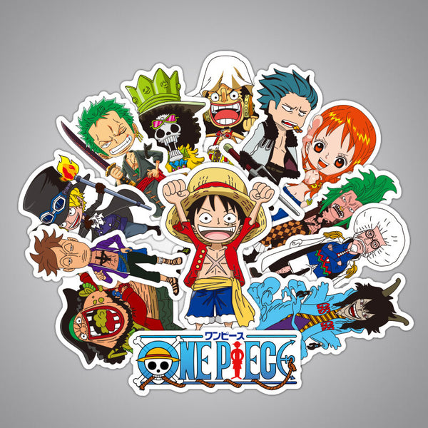 48 pcs ONE PIECE Sticker Bomb