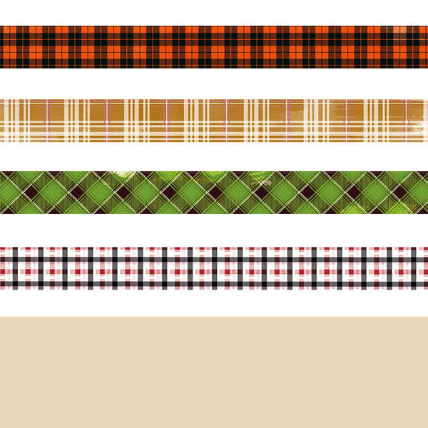 England Plaid Washi Tape