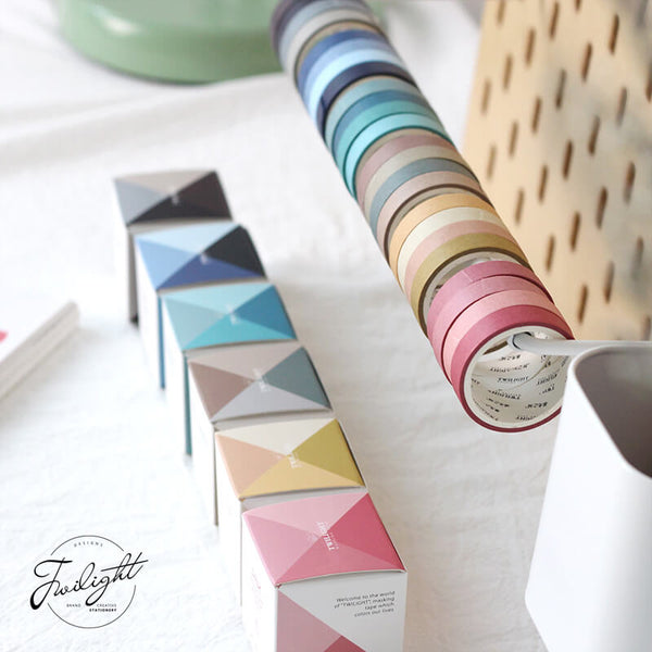 Cold Colors Washi Tape Set-4 Rolls