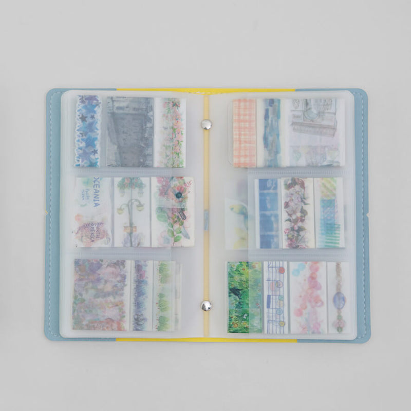 Washi Tape Sticker Storage Bag