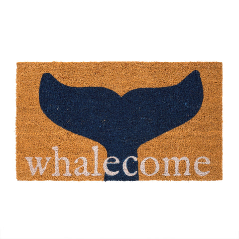 Whalecome Door Mat
