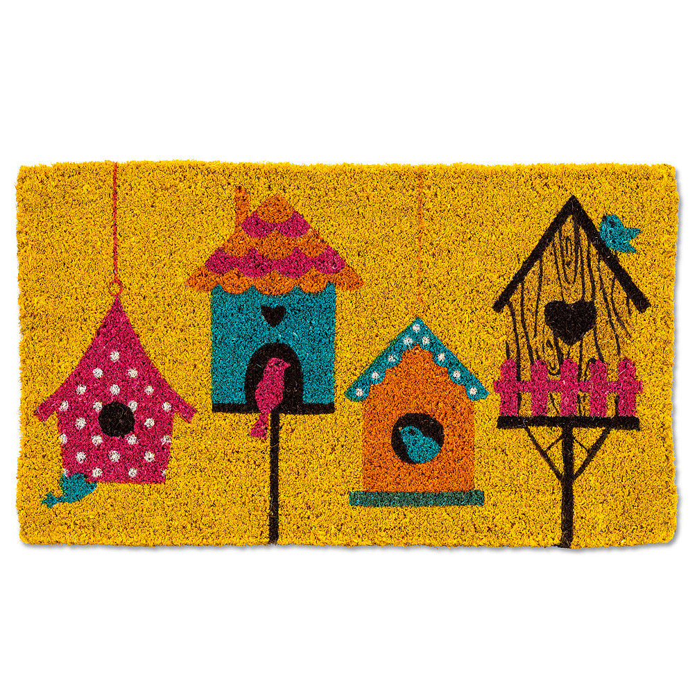 Birdhouse Door Mat