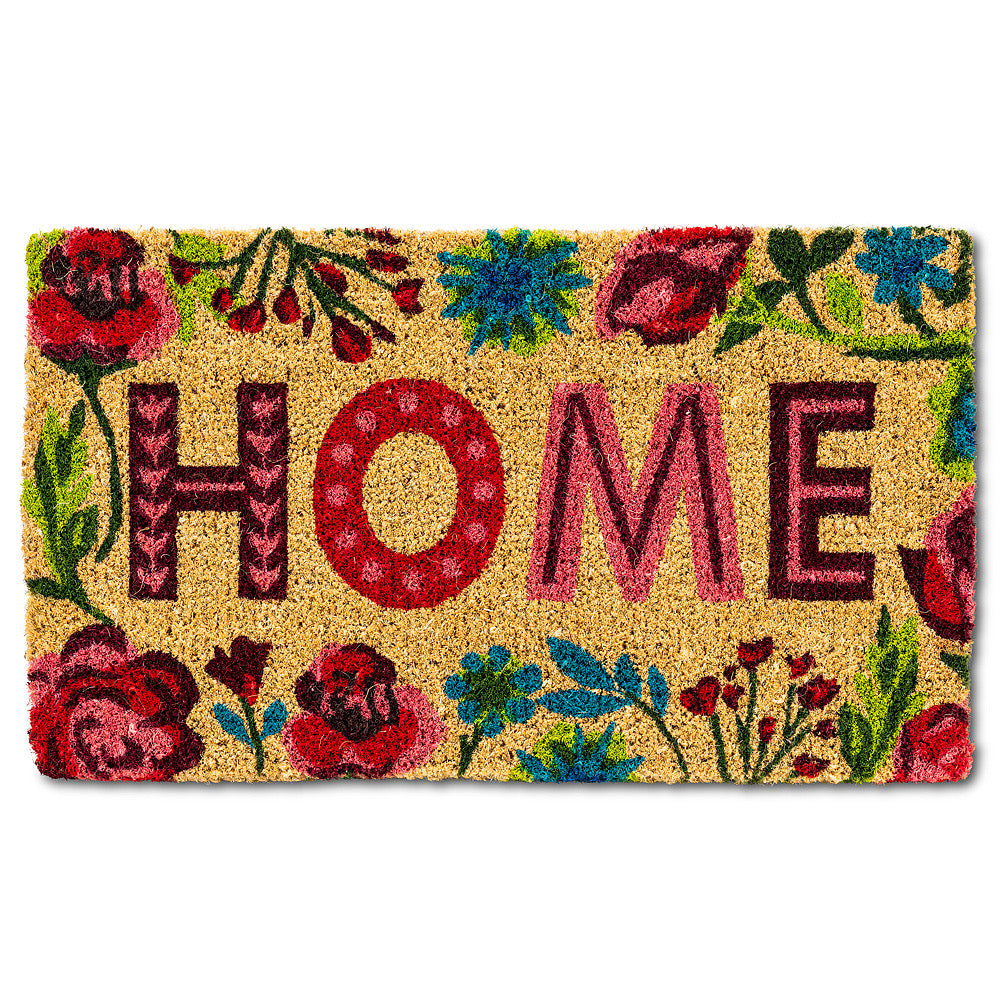 Floral Home Door Mat