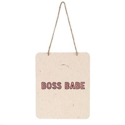 Boss Babe Sign