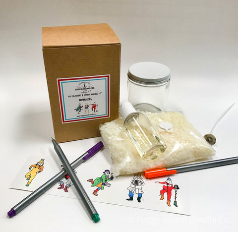 Mummers DIY Colouring & Candle Making Kit