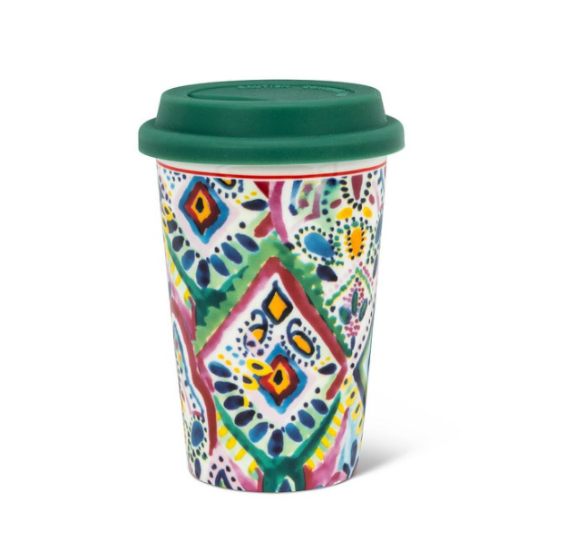 Tribal Takeaway Ceramic Cup