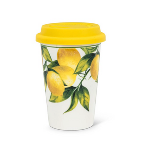 Lemon Tree Ceramic Takeaway Cup