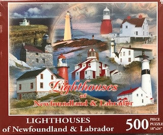 Lighthouses of Newfoundland & Labrador Puzzle