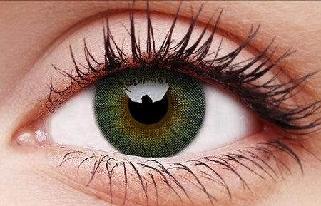 3 TONES GREEN Lenses - 90 days replacement