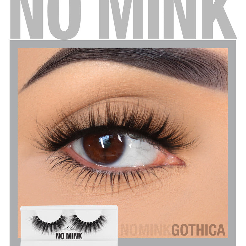 NO MINK // Faux Mink Lashes - GOTHICA