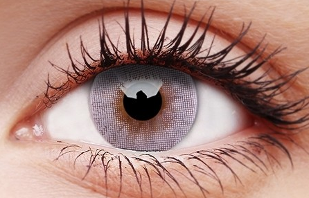 POP GREY Contact Lenses