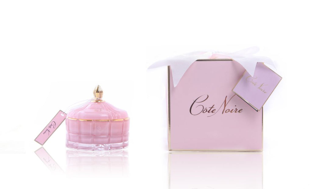 ART DECO CANDLE - PINK CHAMPAGNE
