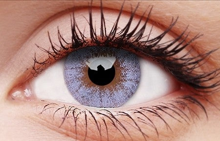 CRYSTAL BLUE Contact Lenses- 30 days replacement