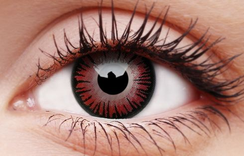Vampire 1-Day Coloured Contact Lenses
