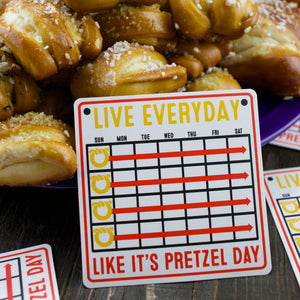 Live Every Day Like It's Pretzel Day Gift Box