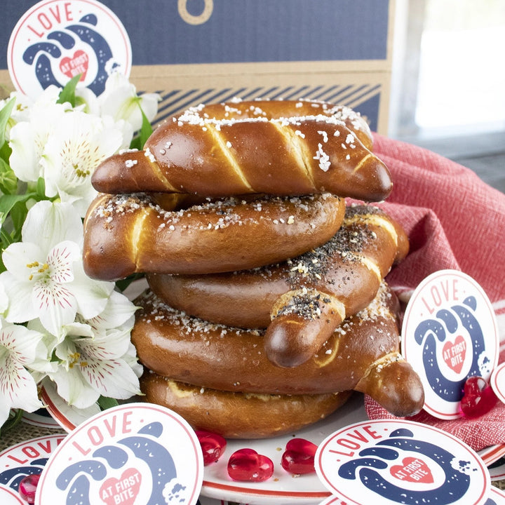 Love At First Bite Gourmet Soft Pretzel Gift Box