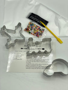 planes, trains and artmobiles cookie cutter set