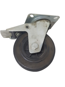 ALLCLEAR 125mm SPARE WHEELS WITH BRAKE