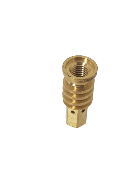 CONTACT TIP HOLDER M8 WITH OUTER THREAD M16X1 FOR GAS DIFFUSOR