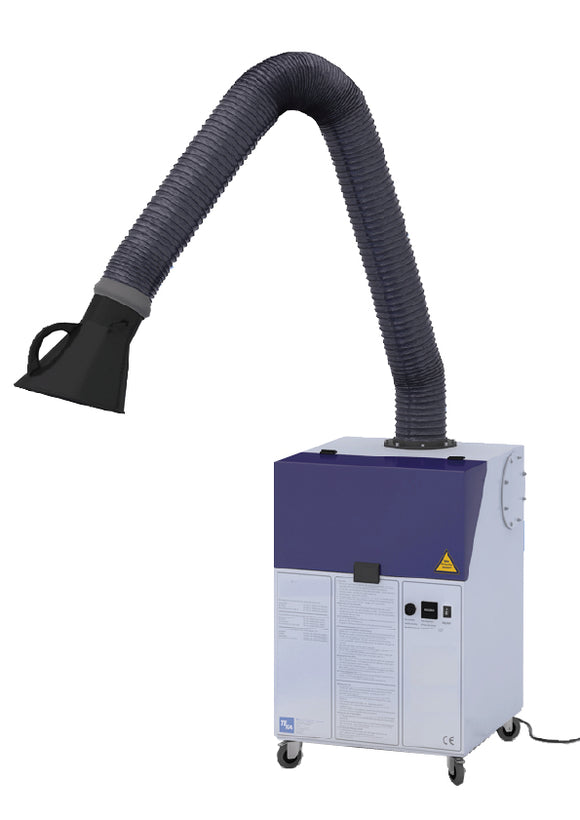 Clearmaster Fume Extraction Unit-3m extraction arm