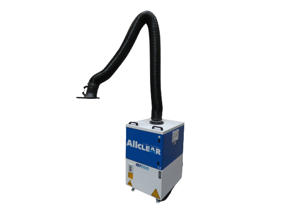ALLCLEAR MA100 FUME FILTER UNIT