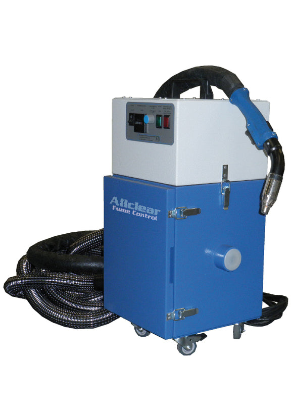 ALLCLEAR TORCHMASTER WITH AUTO START STOP FUME FILTER UNIT 1PH/240V