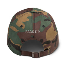 "Load image into Gallery viewer, ""If You're Reading This You're Too Close"" Black Dad Hat"
