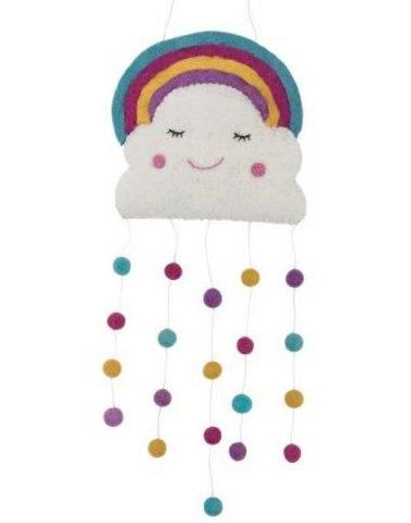 Pashom: Cloud & Rainbow Wall Hanging/Mobile