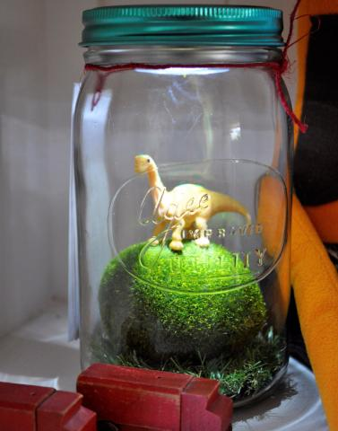 Dino Light Jar