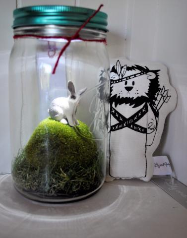Little Rabbit Light Jar